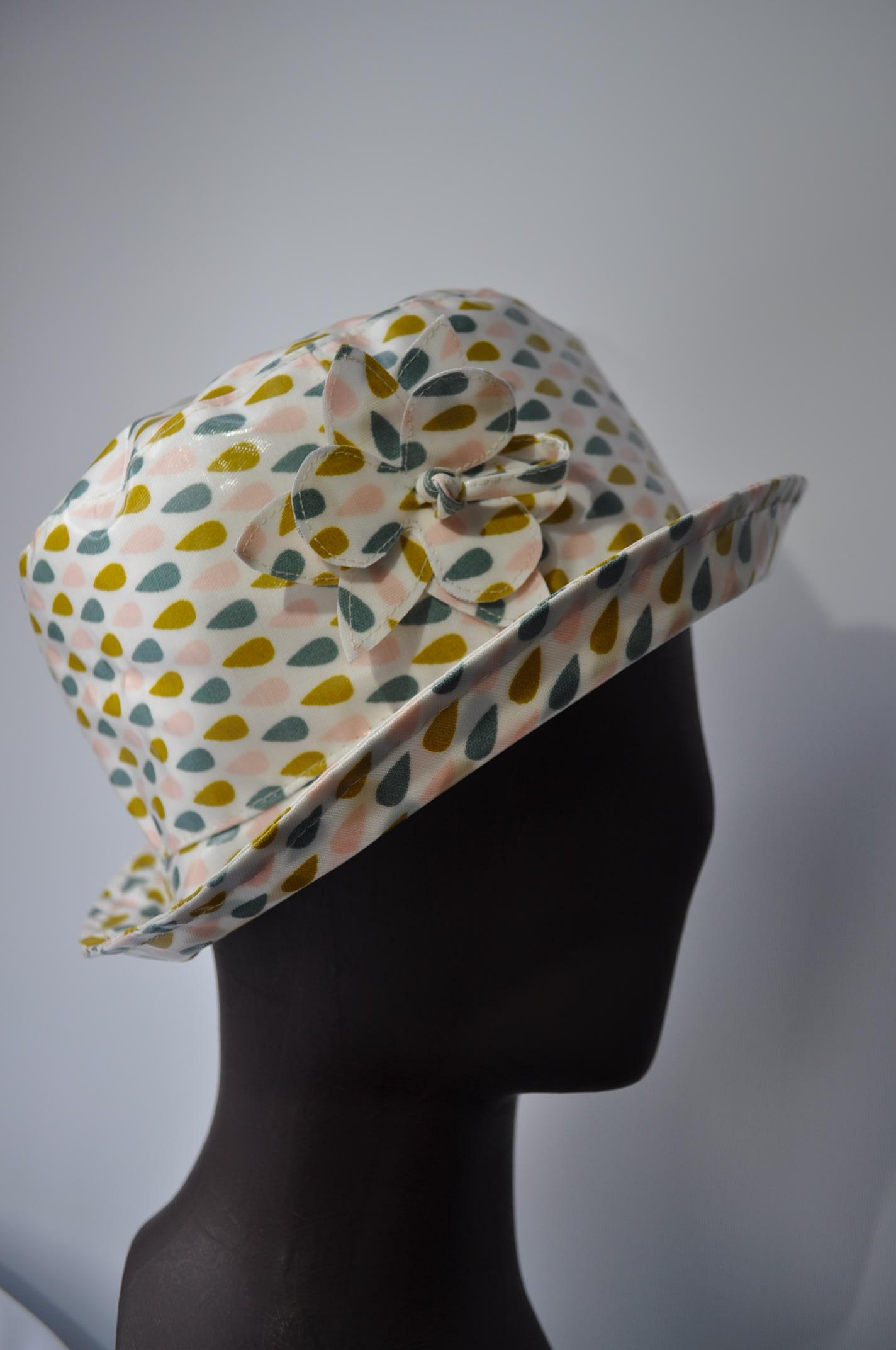 Chapeaux en coton enduit