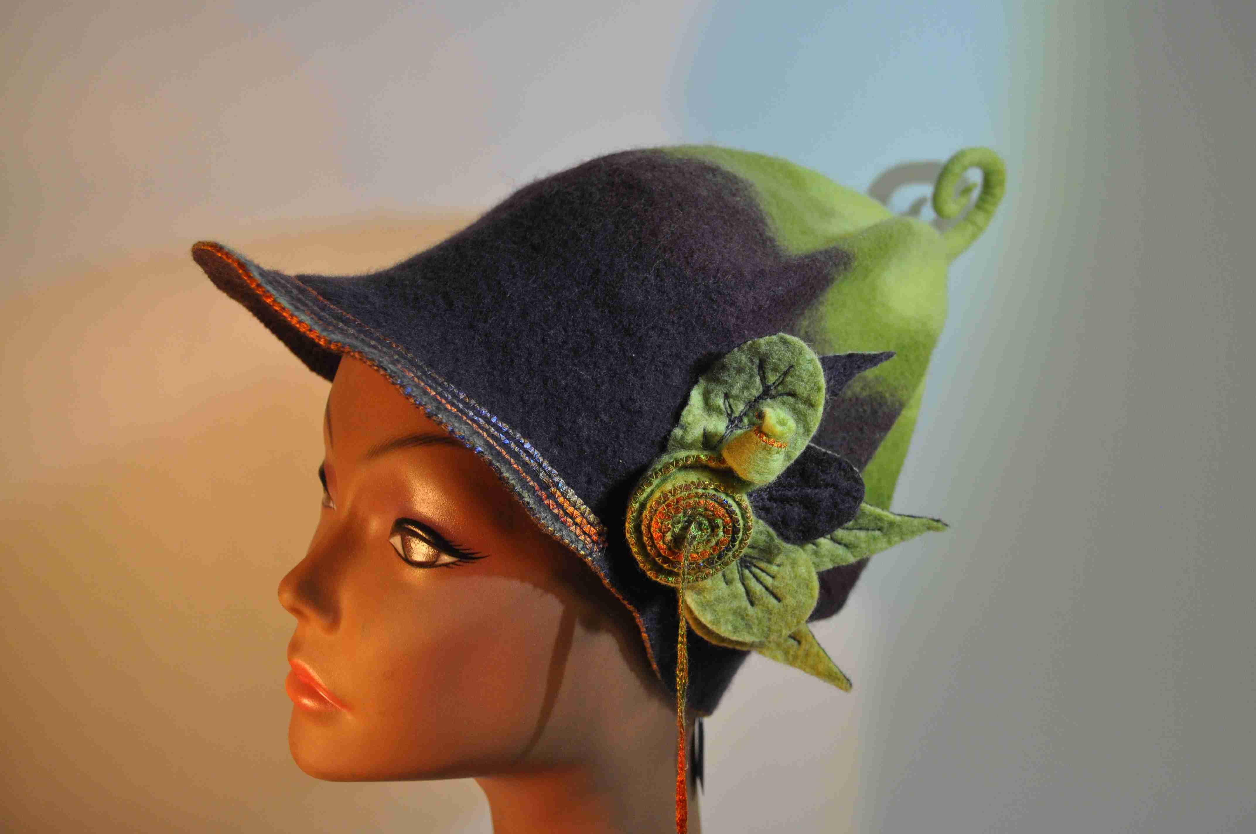 Chapeaux en feutre de laine