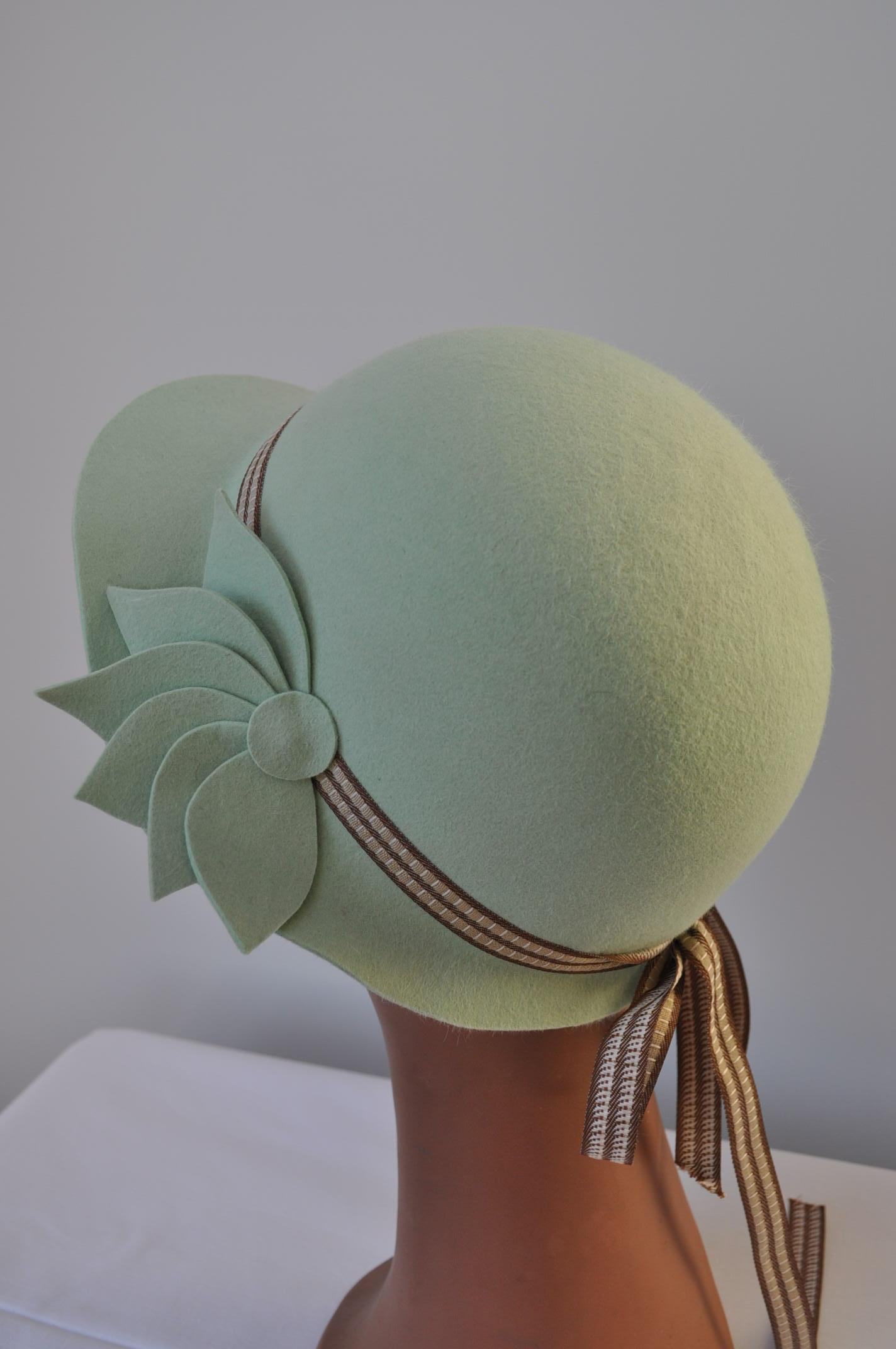 Chapeaux en feutre de lapin