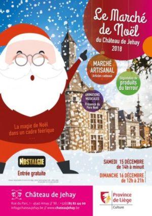 Marché de Noël du château de Jehay 2018