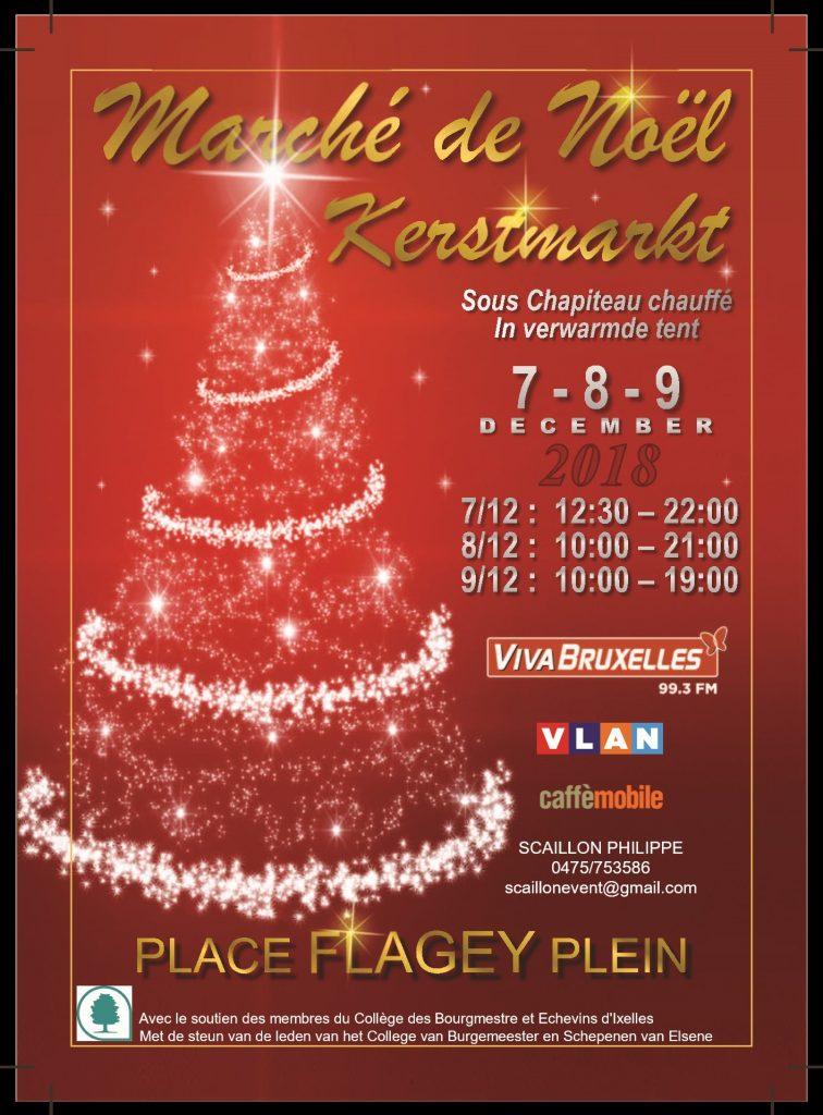 Marché de Noël 2018 de Ixelles