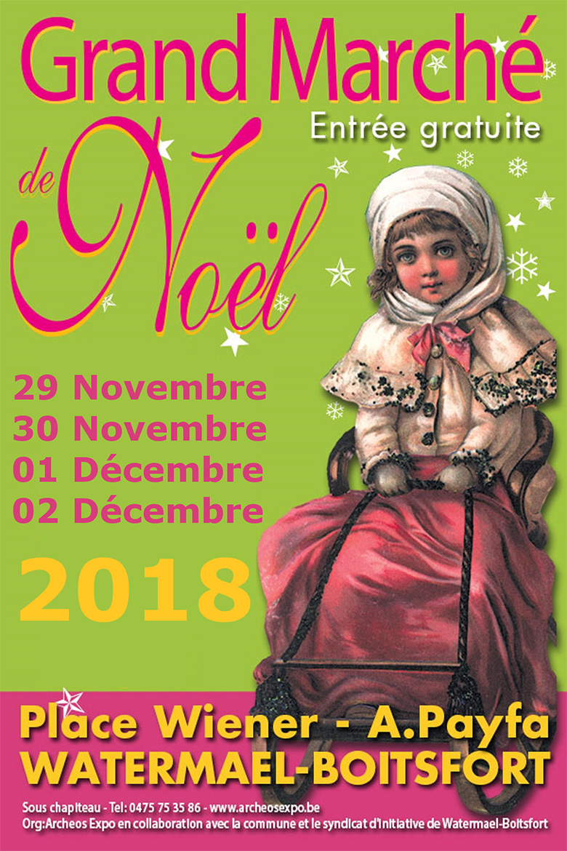 Marché de Noël 2018 de Watermael Boitsfort