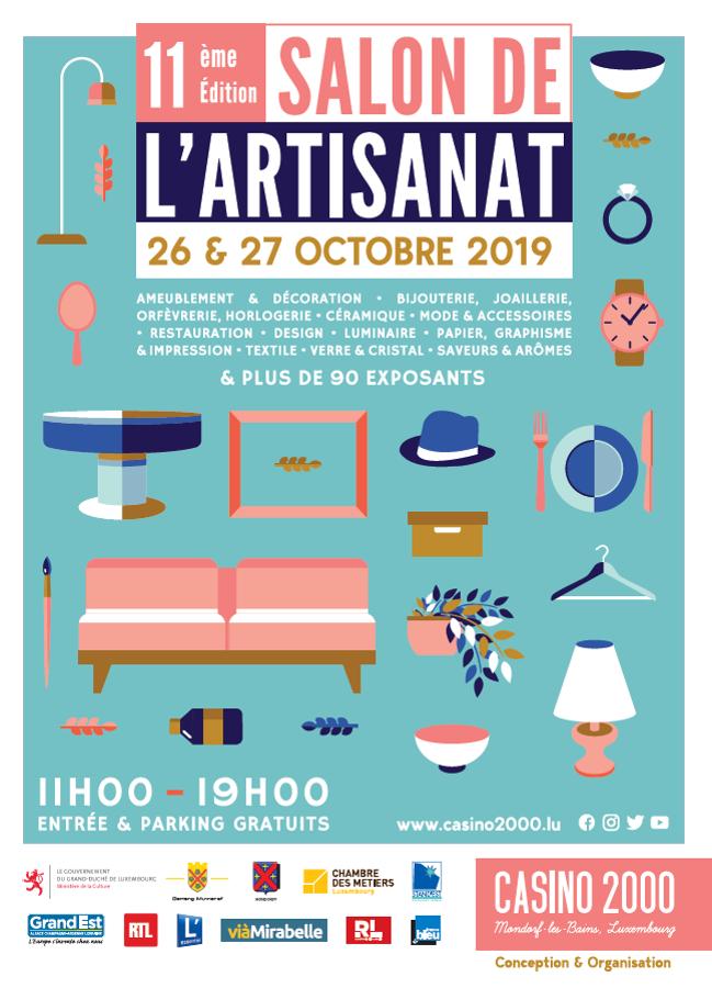 Salon de l'artisanat à Mondorf les bains 2019